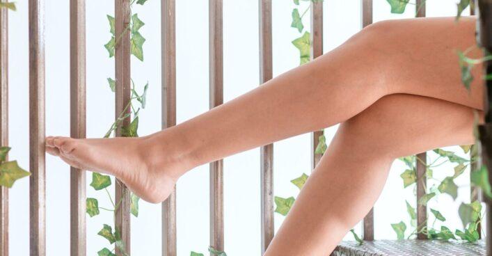 piernas afeitar edad